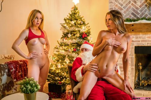 Nikole Nash And Silvia Saige Blonde Anal Beads Brunette In Sweater Naked
