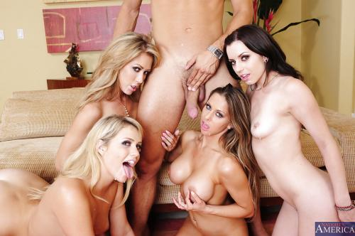 Capri Cavanni And Lexi Belle And Mia Malkova And Rachel Roxxx Jailbait Bikini Girl Blowjob Bikini