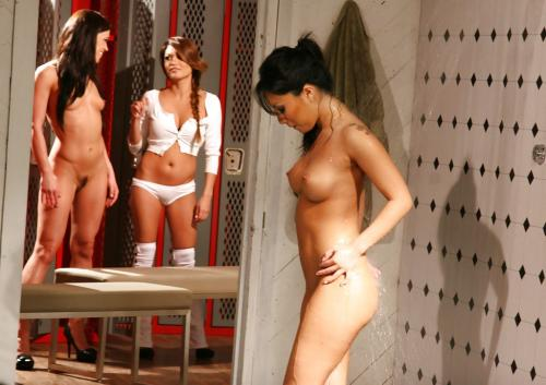 Alyssa Reece and Asa Akira and Charmane Star locker room showers amateur milf pictures