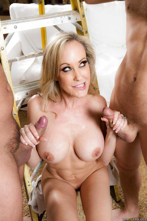 Brandi Love cum facial amateurs facial sexy