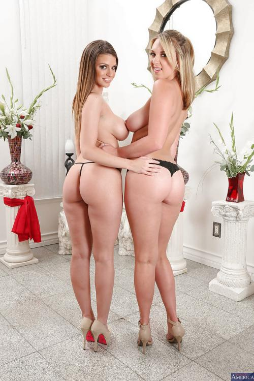 Brooke Wylde and Brooklyn Chase mom panties porn girl with glasses nude