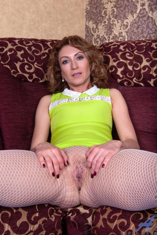 Dafna May long hair fetish gloryhole solo anal