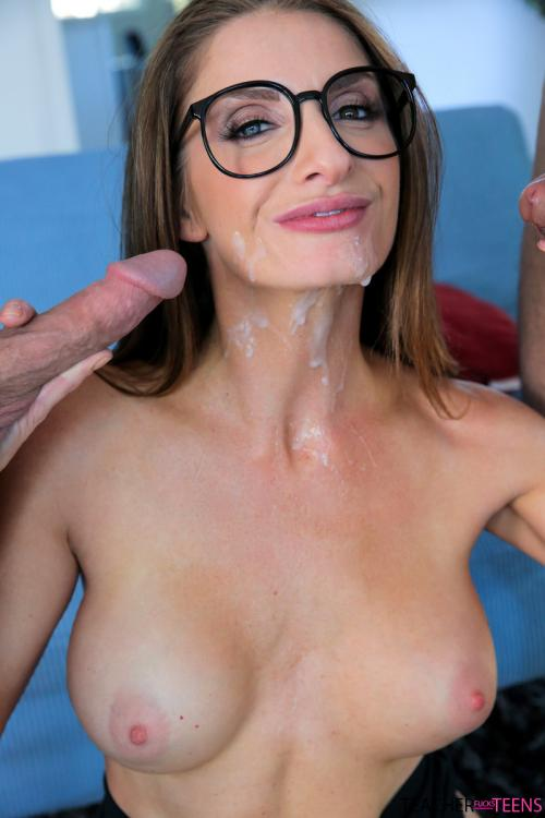 Silvia Saige brandi mahon amateur facials blowjobs suck