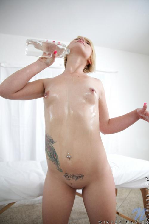 Winter Marie blonde emo pussy moms sex toys